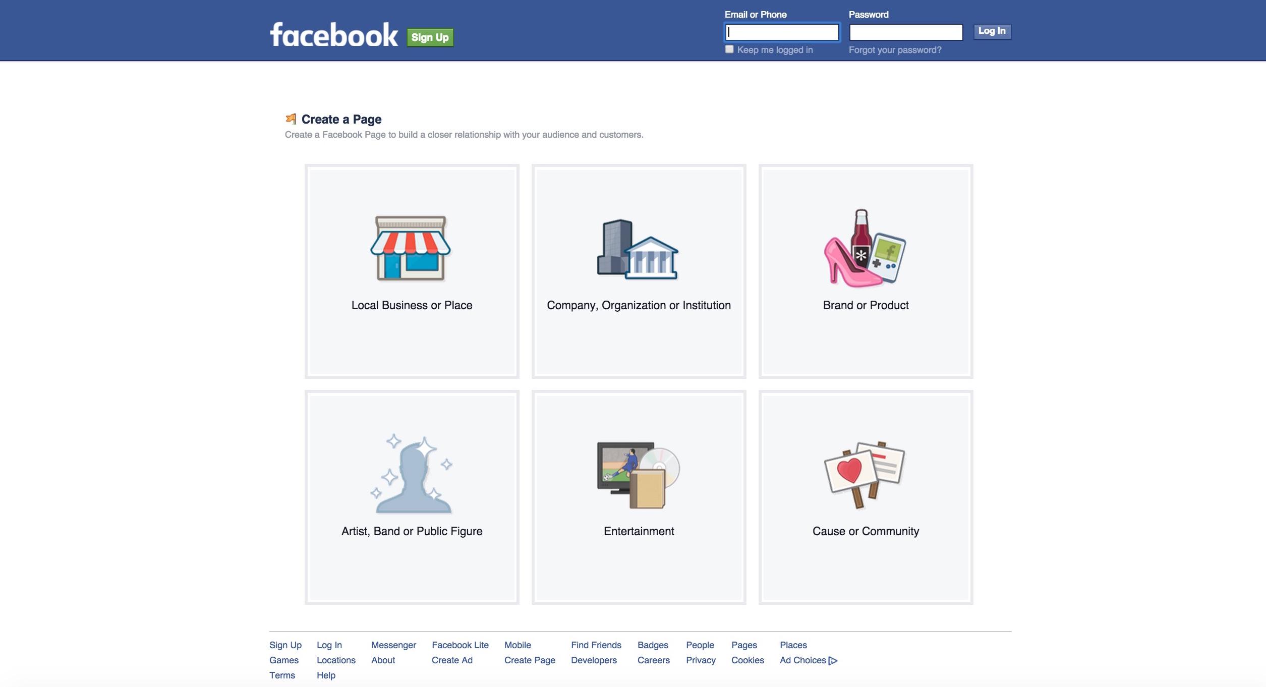 facebook-page-setup